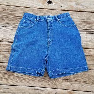 Vintage 90s Gloria Vanderbilt High Waist Shorts